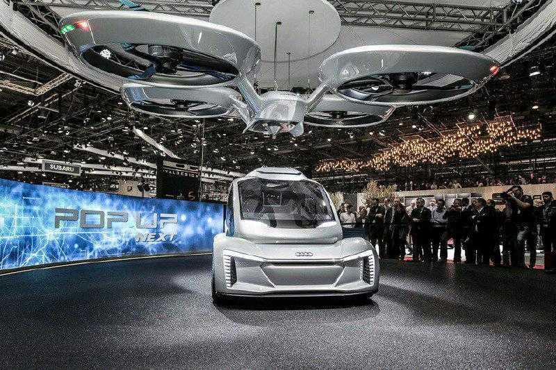 Беспилотное аэротакси от AIRBUS/ Volkswagen