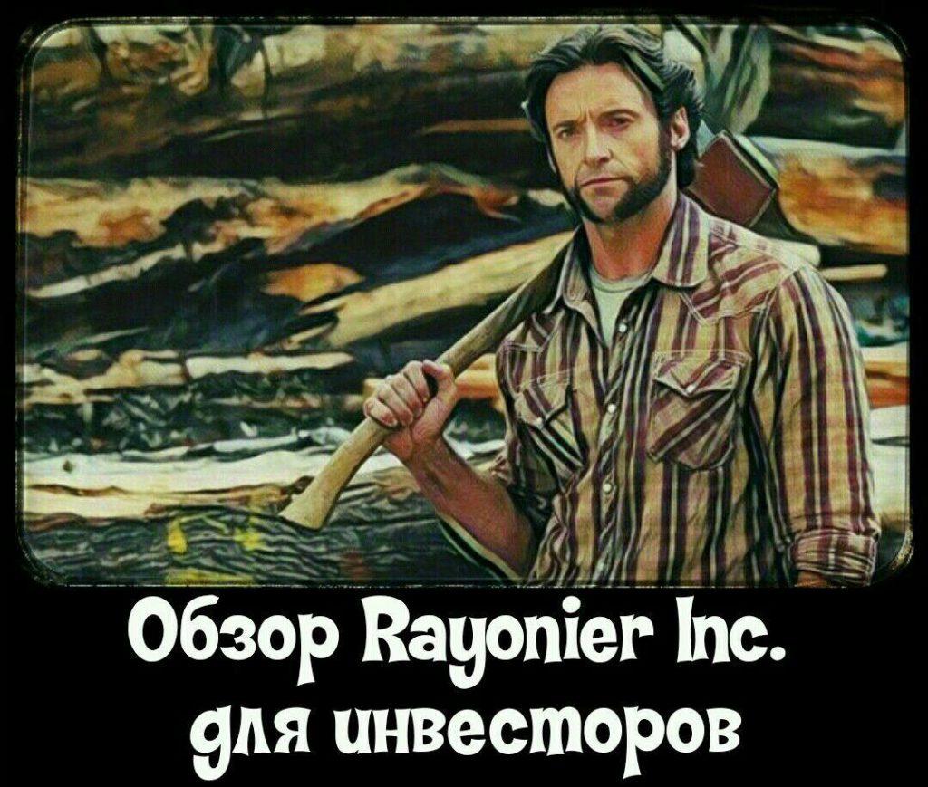 Лесной сектор. Обзор компании Rayonier Inc. (NYSE:RYN) для инвесторов. Плюсы и минусы. Финансовые результаты и дивидендные выплаты.